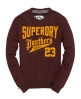 Superdry Panthers Field Crew Red