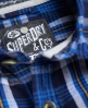 Superdry Lumberjack Shirt Blue