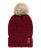 Superdry North Cable Bobble Hat Red