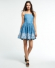 Superdry Tencel Prairie Dress Light Blue