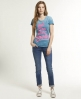 Superdry Feel The Fluro T-shirt Blue