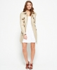 Superdry Belle Trench Coat Beige