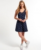 Superdry JPN Star Rydell Dress Navy