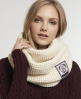 Superdry Herders Snood Cream