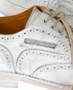 Superdry Premium Brogue Shoe White