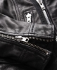 Superdry Premium Leather Biker Jacket Black