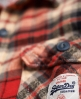 Superdry Milled Flannel Shirt Red