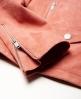 Superdry Suede Biker Jacket  Pink