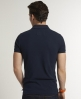 Superdry London Pique Polo Navy