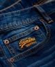 Superdry 修身牛仔裤 蓝色