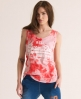 Superdry Vintage Tomboy Tank Red