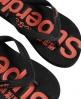 Superdry GT Flip Flops Black