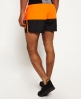 Superdry Sports Active Colour Block Shorts Black
