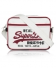 Superdry Mash Up Mini Alumni Bag White