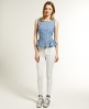 Superdry Stately Peplum Top Blue