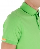 Superdry Two Button Jersey Polo Green