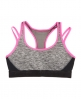 Superdry Gym Duo Strap Bra Grey