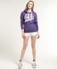 Superdry Number 1 Co. Hoodie Purple