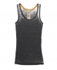 Superdry Burnout Tank Top Black