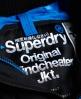 Superdry Cazadora cortaviento con capucha Pop Zip Technical Negro