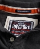 Superdry Classic Pique Polo Dark Grey