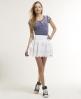 Superdry Broderie Skirt White