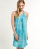 Superdry Aquarium Beach Dress Blue