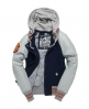 Superdry Stadium Mix Jacket Navy