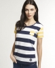 Superdry Ahoy Sailor T-shirt Navy