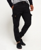 Superdry Pantaloni in cotone Rookie Grip  Nero