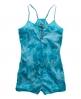 Superdry Tie Dye Playsuit Blue