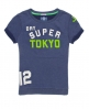 Superdry Slouch Crew Sweat Top Blue