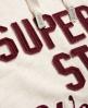 Superdry Appliqué Kapuzenpulli Elfenbein
