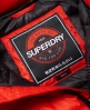 Superdry Core Luxe polstret gilet-jakke  Rød