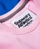 Superdry Japan City Breakers Crew Jumper Pink