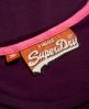Superdry Vintage Logo T-shirt Purple