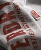 Superdry Track & Field Zip Hoodie Grey