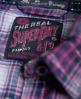 Superdry Lurex Calamity Shirt Navy