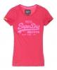 Superdry Vintage Entry T-shirt Pink