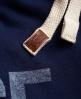 Superdry Core Appliqué Jogginghose Marineblau