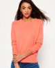 Superdry Downtown Raglan Knitted Jumper Coral