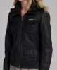 Superdry Ramona Check Leather Black