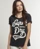 Superdry No Ho T-shirt Black