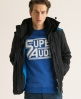 Superdry Polar Windcheater Black