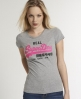 Superdry Vintage Logo T-shirt Grey