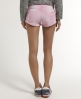 Superdry Raw Edge Hotpants Pink