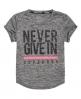 Superdry T-shirt SD Sport Fitspiration  Gris Clair