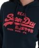 Superdry Vintage Hoodie Navy