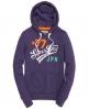 Superdry Saint Hoodie Purple