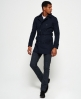 Superdry Director Trench Coat Navy